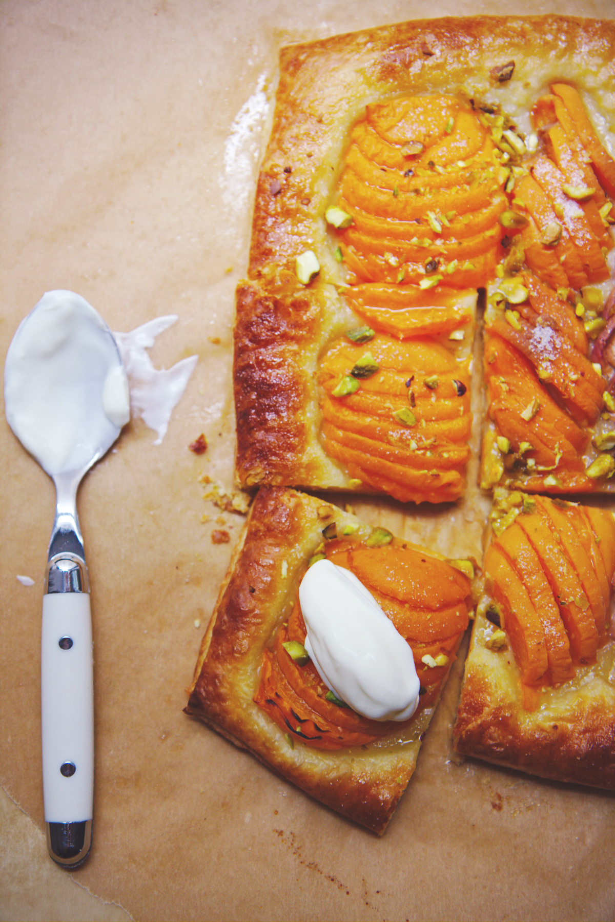 Seriously Easy Stone Fruit Tart | La Pêche Fraîche