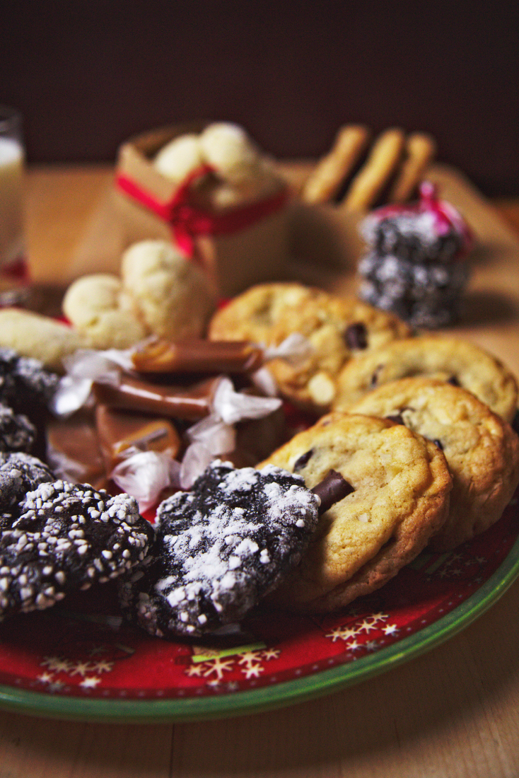 Holiday Cookie Platter | La Pêche Fraîche