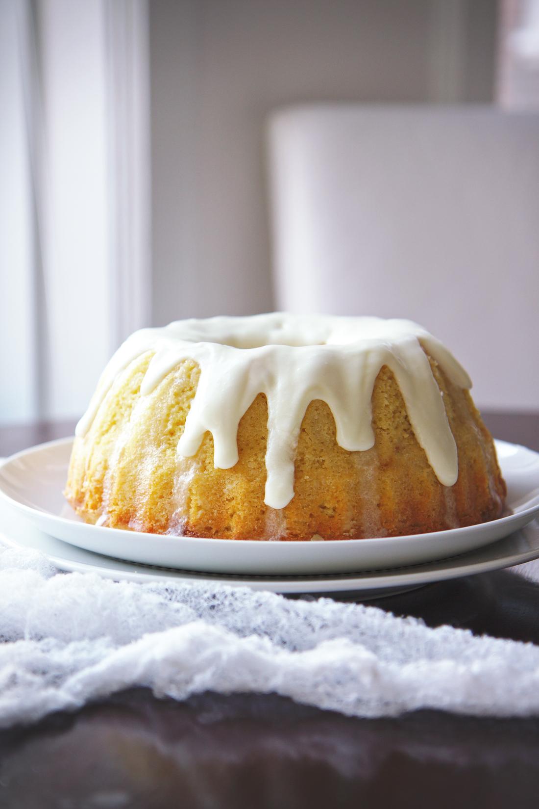 Dairy-free Lemon and Champagne Pound Cake | La Pêche Fraîche