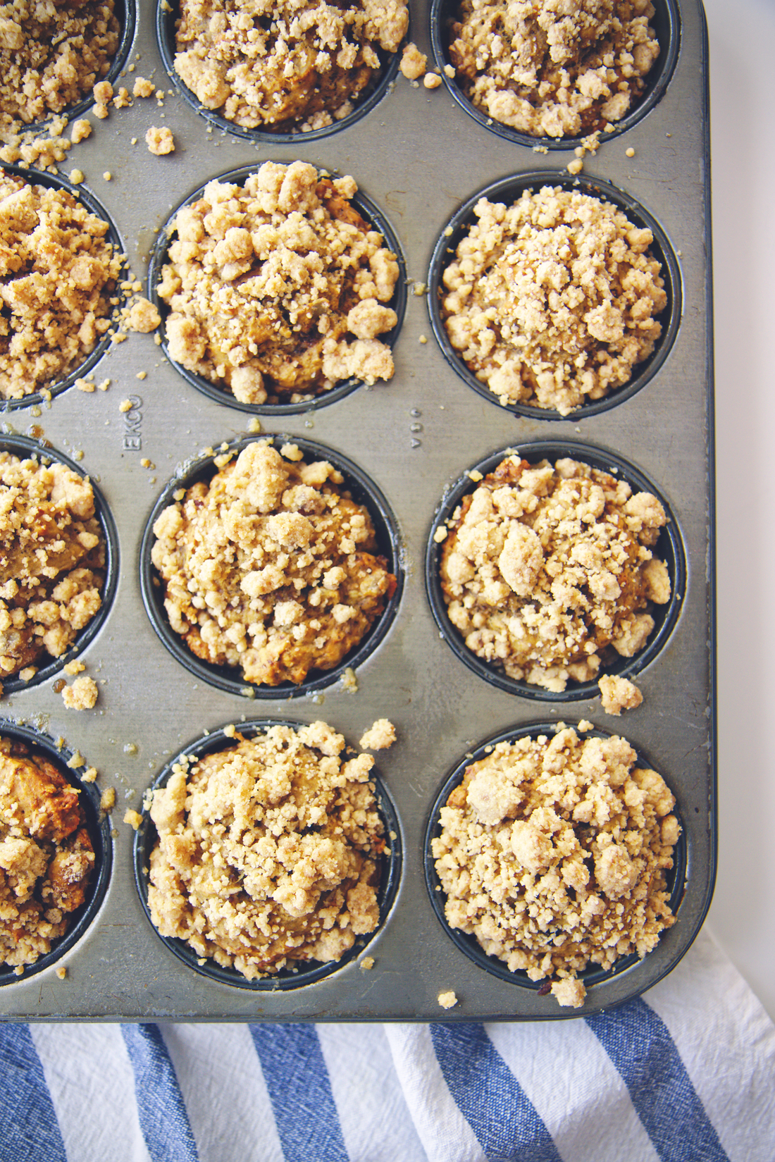 Vegan Banana Muffins | La Pêche Fraîche