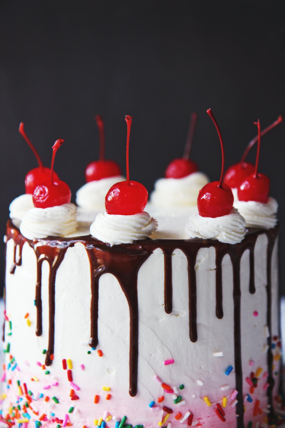 Vanilla Almond Cake | La Pêche Fraîche