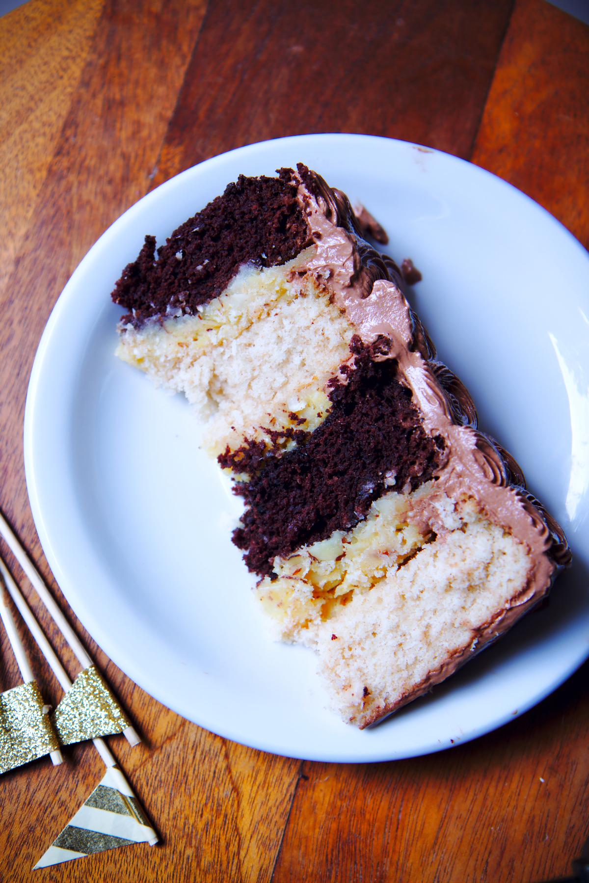 Almond Joy Cake | La Pêche Fraîche
