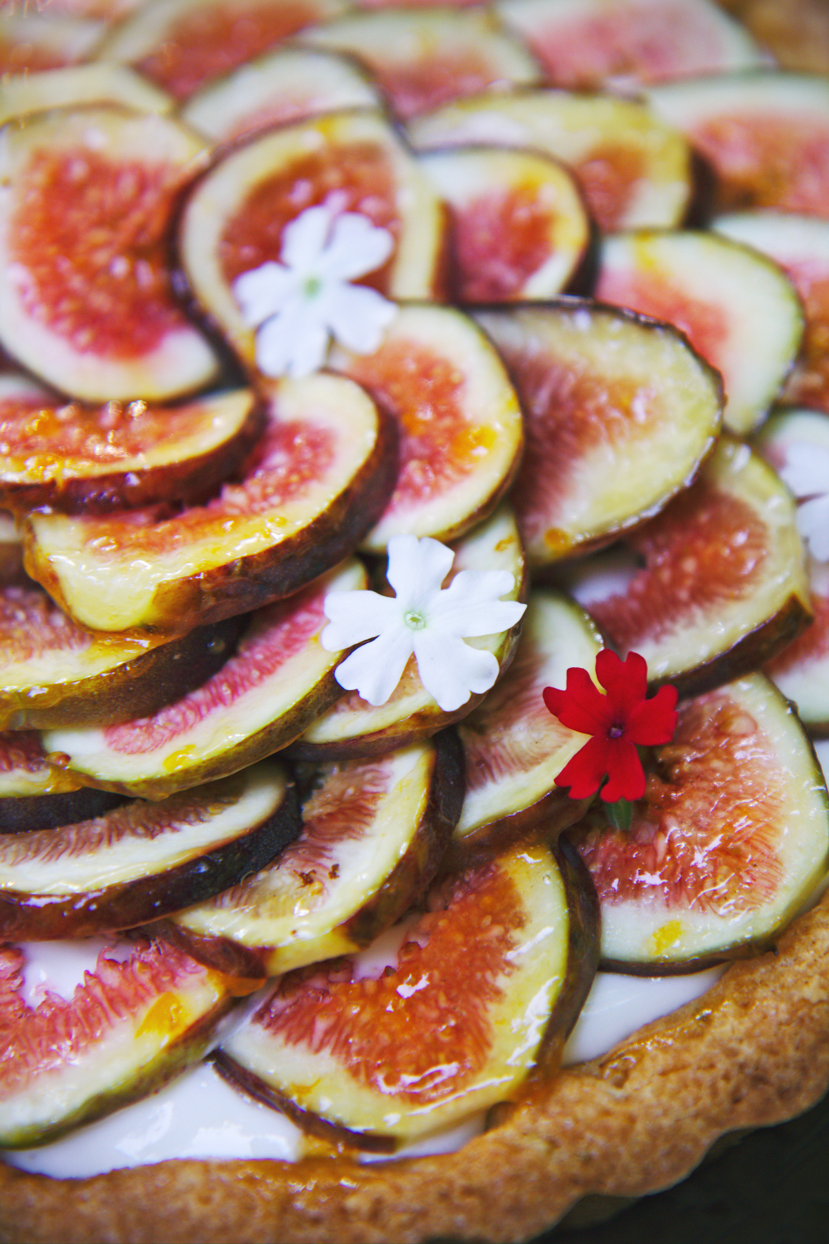 Fig, Rosemary, and Lemon Tart | La Pêche Fraîche