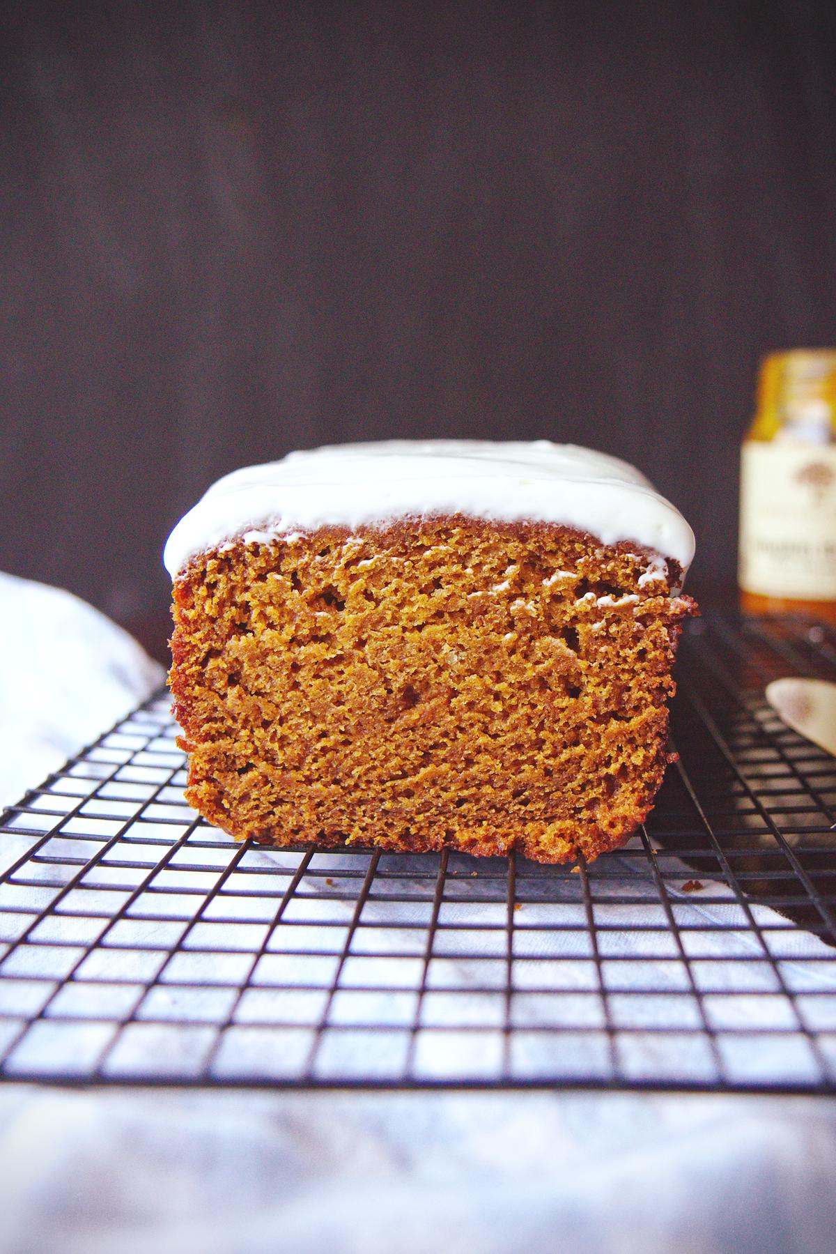 Double Pumpkin Cake | La Pêche Fraîche