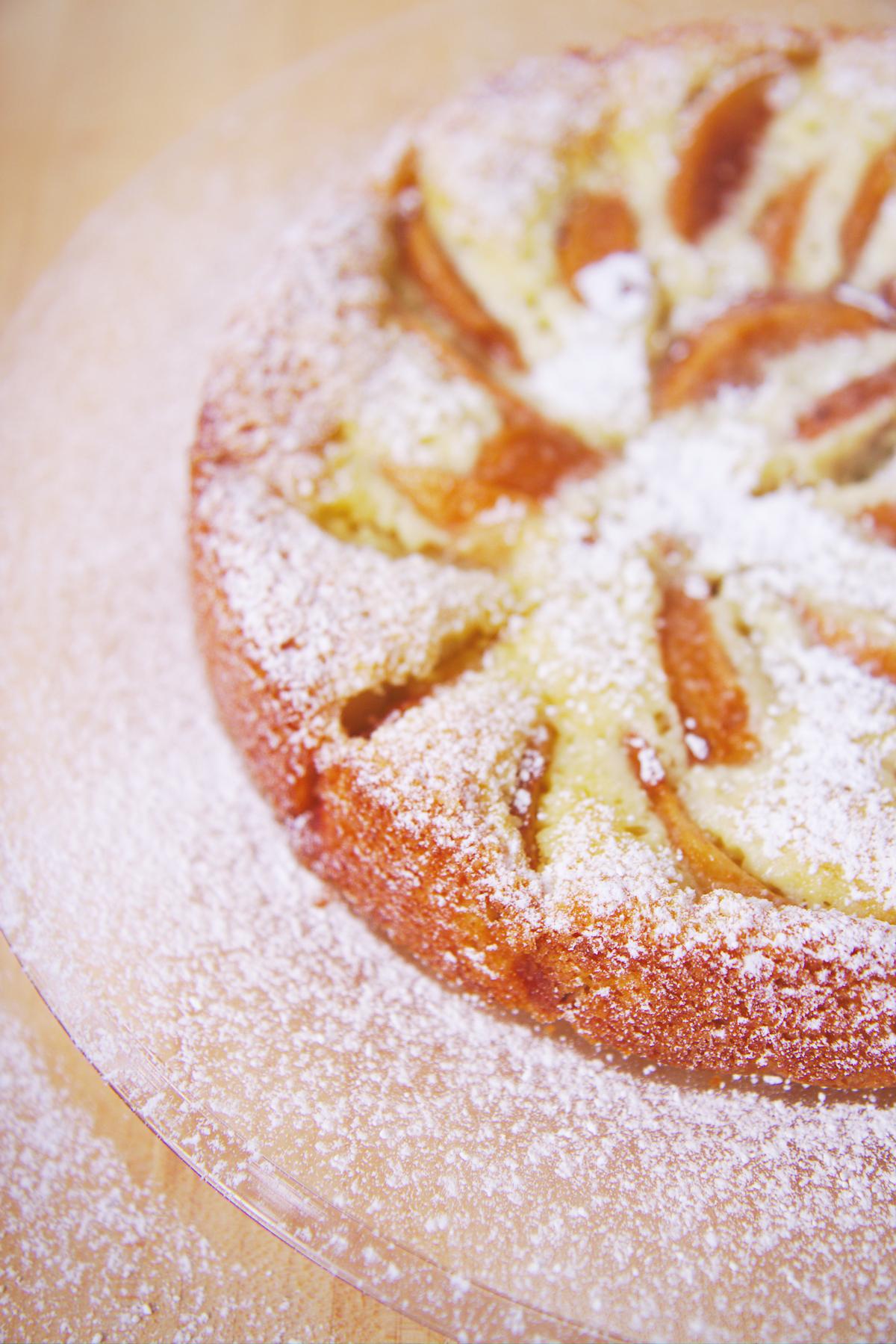 Fallen Pear Torte | La Pêche Fraîche