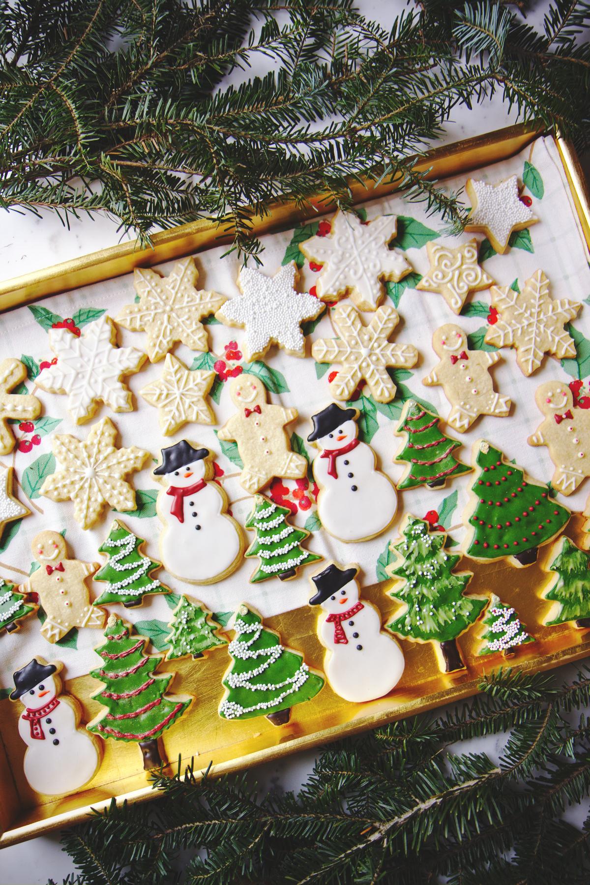 Eggnog Sugar Cookies | La Pêche Fraîche
