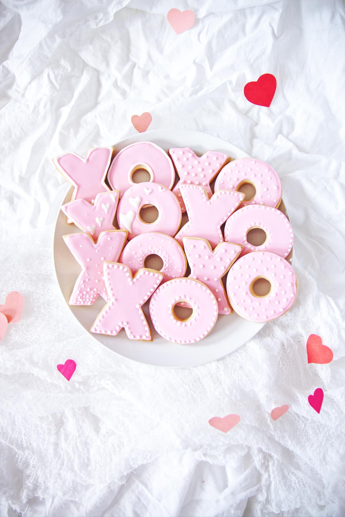 XO Sugar Cookies | La Pêche Fraîche