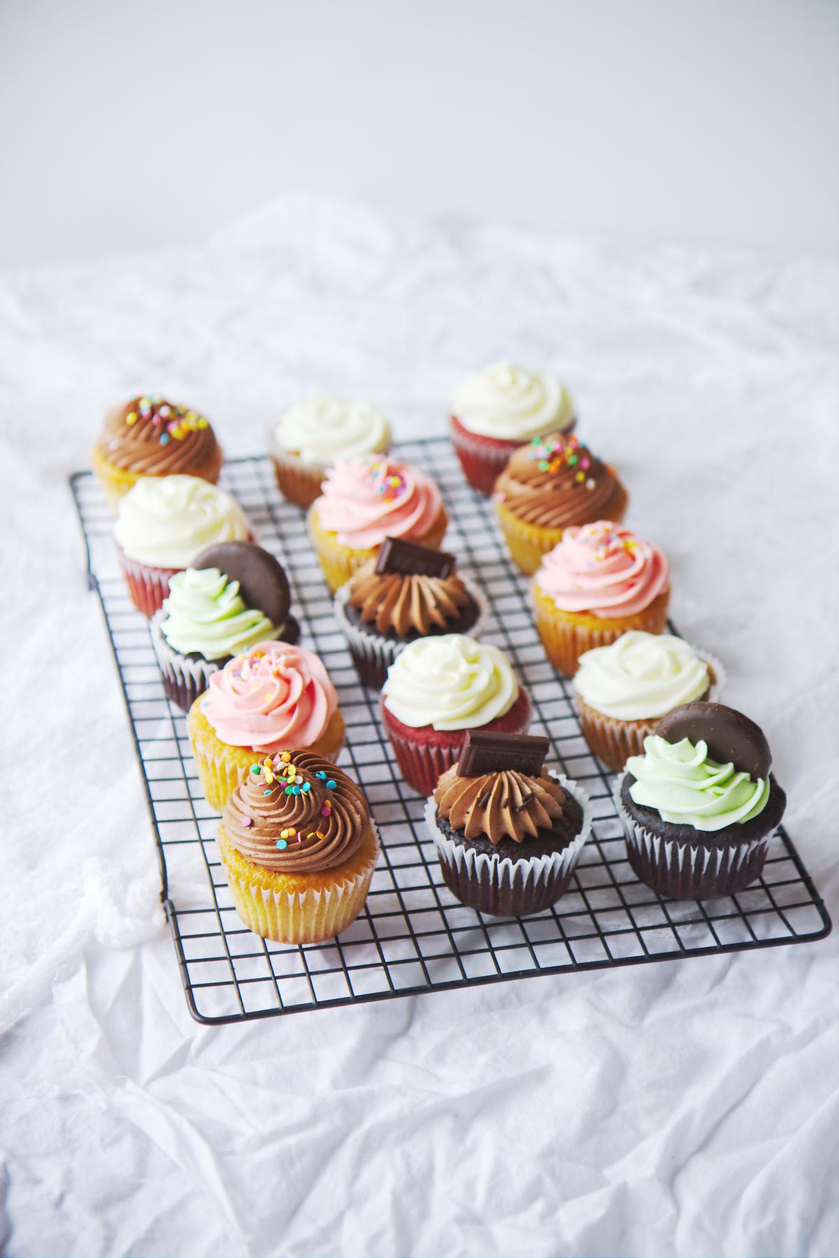 Cupcakes Galore! | La Pêche Fraîche