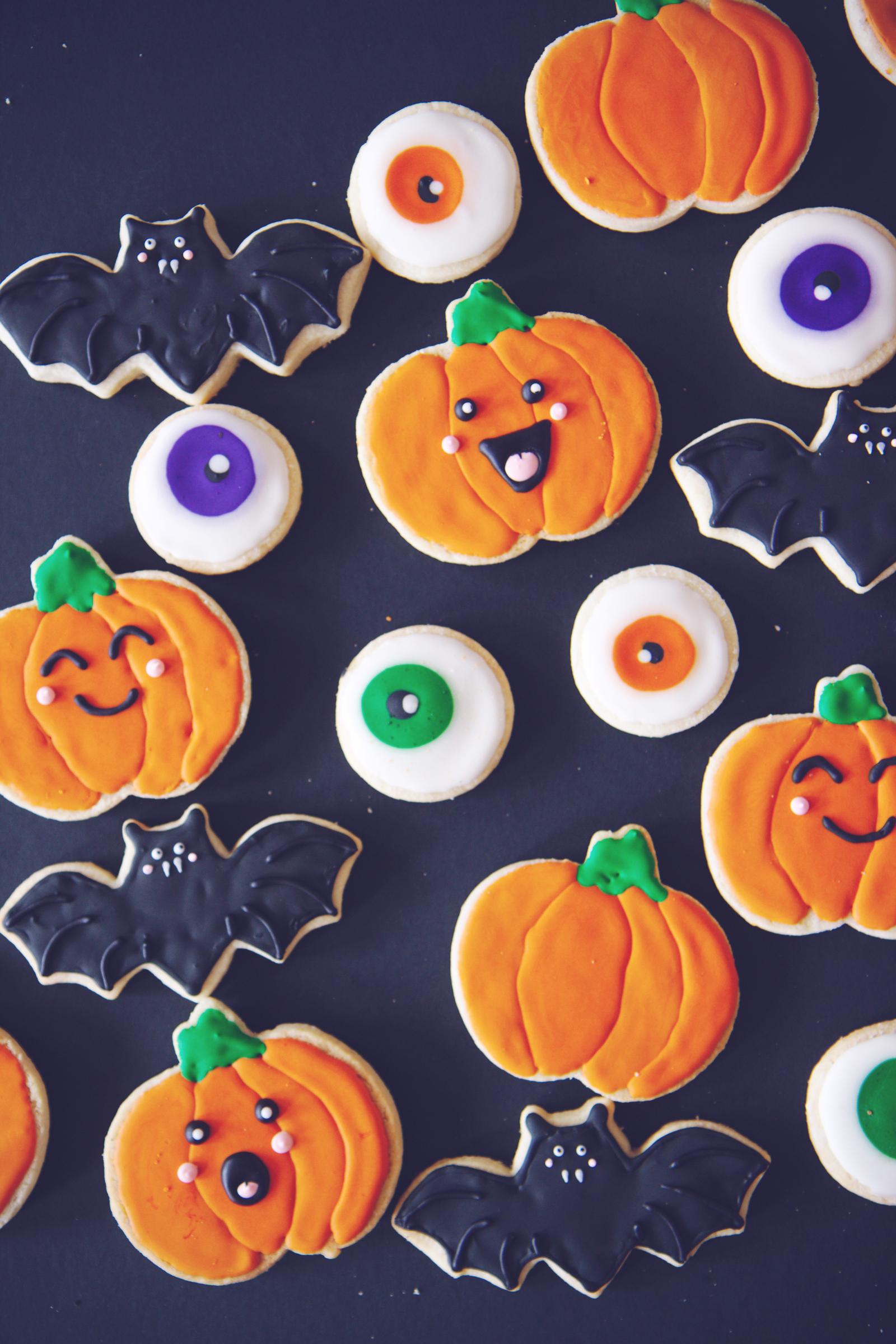 Halloween Cookies | La Pêche Fraîche