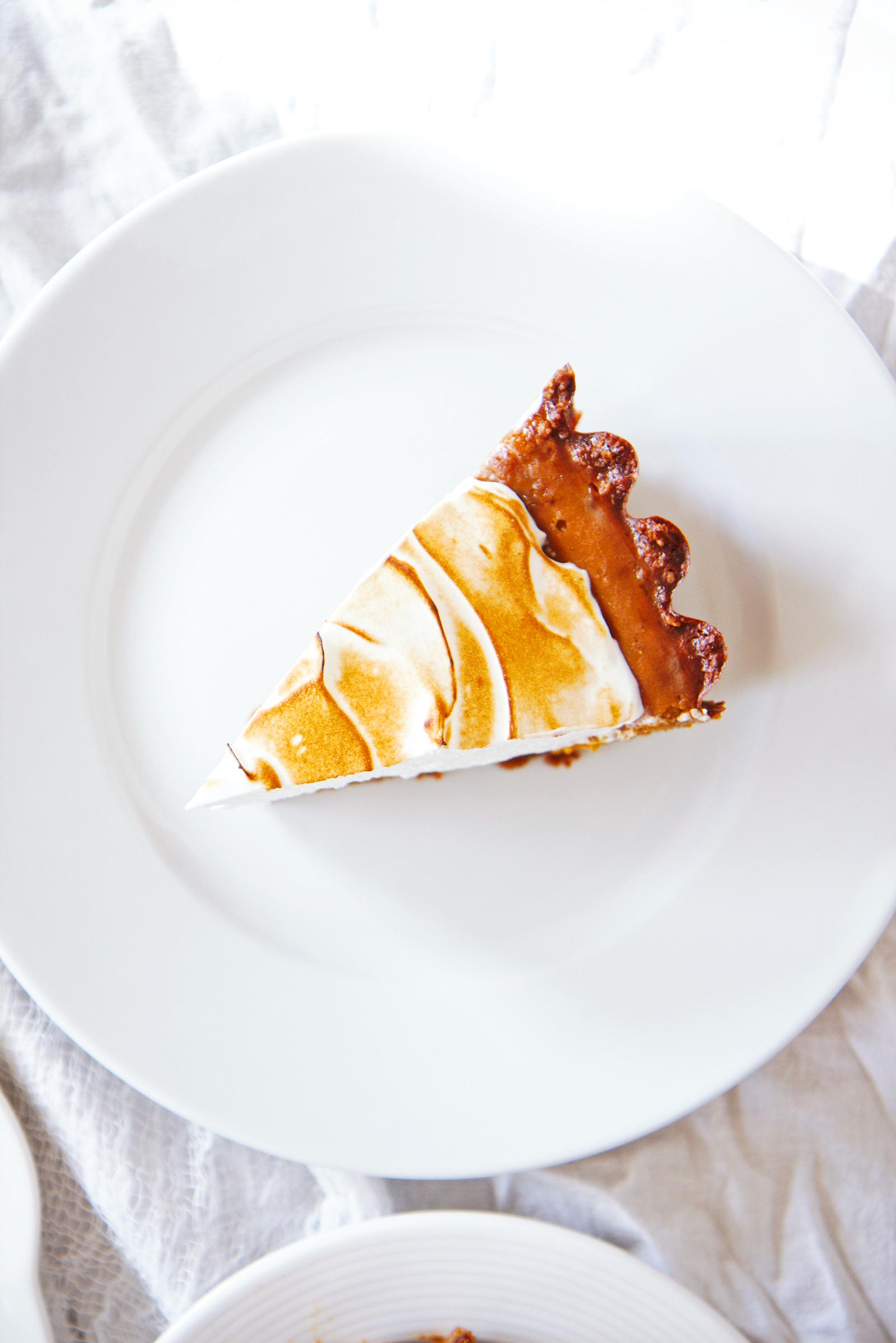 Pumpkin Meringue Pie | La Pêche Fraîche