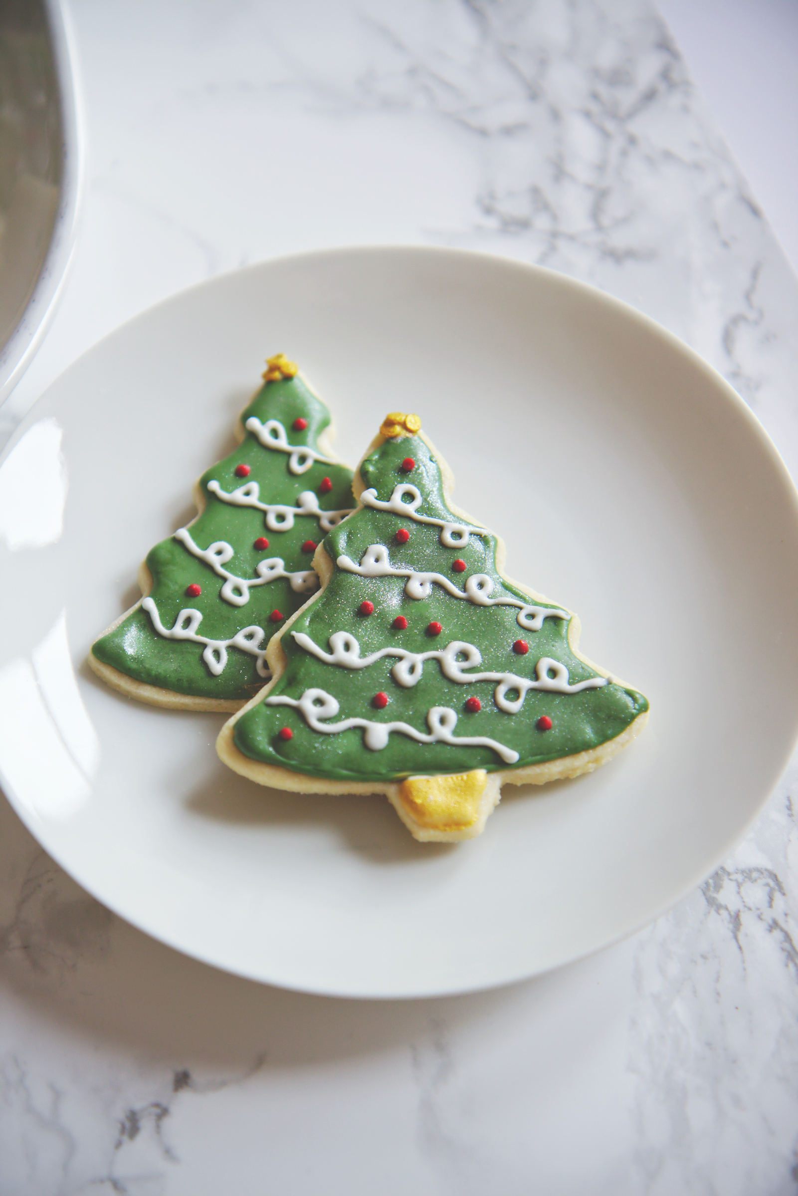 Christmas Tree Cookies | La Pêche Fraîche