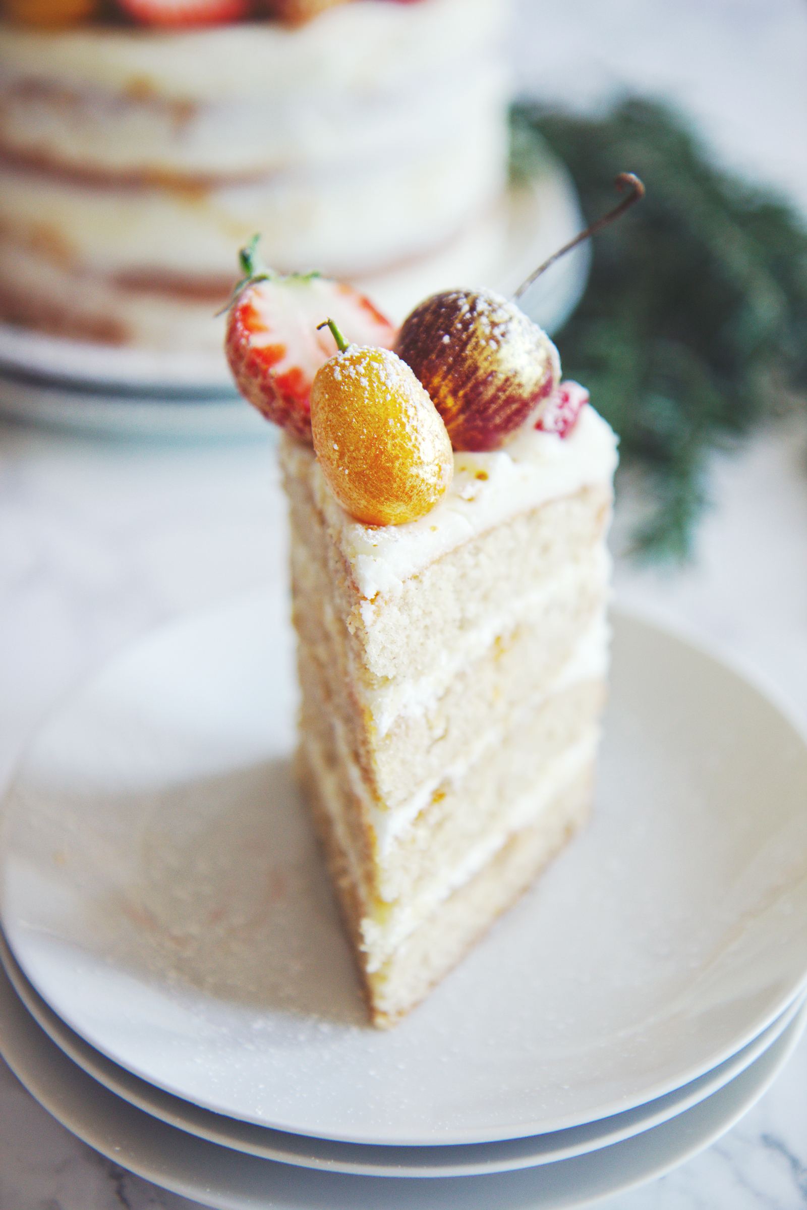Almond and Orange Spice Cake | La Pêche Fraîche