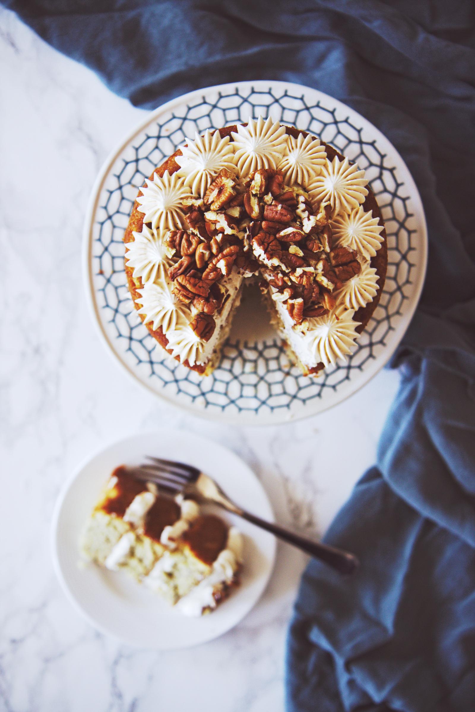 Maple Banana Cake | La Pêche Fraîche