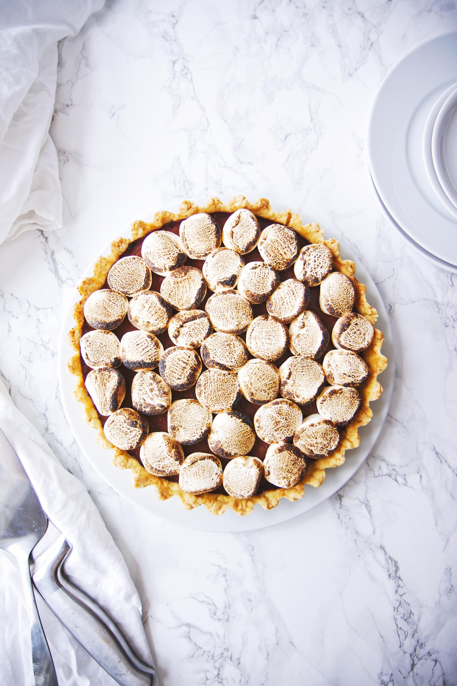 Vegan Campfire Pie | La Pêche Fraîche